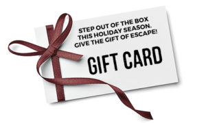 Lakeland Escape Room Gift Card